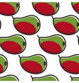 mango fruit south africa harvest seamless pattern vector image vector image