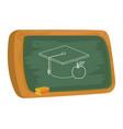 school board cartoon vector image