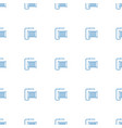 water hose icon pattern seamless white background vector image vector image