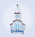 Wedding icons design