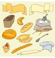 Bread theme vector | Price: 1 Credit (USD $1)