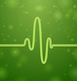 Cardiogram and Heartbeat vector image