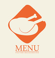 food menu design vector image vector image