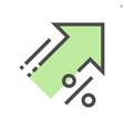 increase price icon design 48x48 pixel perfect vector image