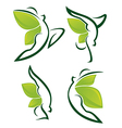 nature fitness vector image vector image