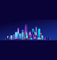 new york city vector image