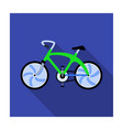 a sports bike for a quick ride down the road vector image vector image