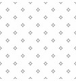 abstract seamless pattern grey stars modern vector image