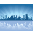 bristol england skyline vector image vector image