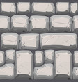 cobble stones seamless texture vector image vector image