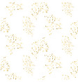 gold glitter small placer seamless pattern vector image vector image