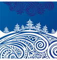 Happy new year merry christmas card vector image vector image