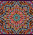 mandala ethnic abstract floral pattern vector image
