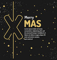 merry christmas background holiday 2017 vector image vector image