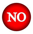 No button vector image