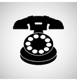 old phone design vector image vector image