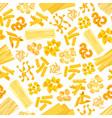 pasta and italian macaroni seamless pattern