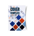 report cover design vector image vector image