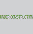Robot under construction concept eps 10 vector image