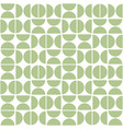 seamless geometric pattern with semicircles mid vector image vector image