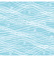 winter background pattern of wavy lines vector image