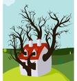 House Tree Grown Inside vector image