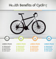 Bike Infographic vector image vector image