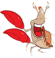 Cute Crab Cartoon Character vector image vector image