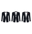 Men formal suit on a white background
