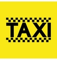 modern taxi service background vector image vector image
