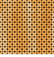 Seamless abstract background in yellow and brown vector image vector image