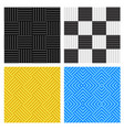 seamless sound profoams pattern vector image vector image