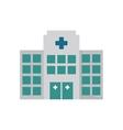 building hospital medicine healthcare vector image