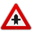 Crossroads Sign vector image