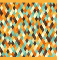 diamond pattern seamless retro background vector image vector image