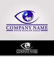 eye health vector image