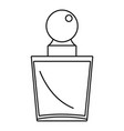 fashion perfume icon outline style vector image vector image