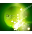 Holiday green abstract background winter vector image