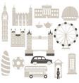 london architecture london architecture vector image vector image