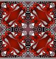 vintage floral ornate seamless pattern ornamental vector image vector image