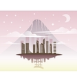 Beautiful Japan Travel Landmarks vector image
