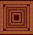 chinese decorative frame border vector image