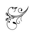 decorative art icon design template vector image vector image
