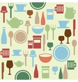 Dining pattern vector image vector image