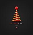 joyeux noel - christmas greetings in french vector image vector image