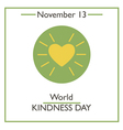 Kindness Day vector image vector image
