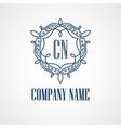 Monogram Logos Vintage Concepts vector image vector image