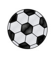 Soccer ball for brazil sport champion vector image