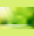 sunlight nature bokeh vector image vector image