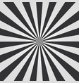 black and white sunburst vector image vector image